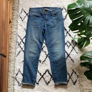 J Brand Cropped Ellis Rival Jean Size 26